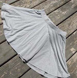Comfy Skirt Gray Size Large